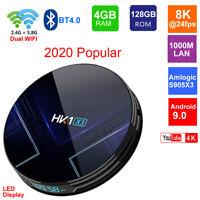 HK1 X3 Android 9.0 Smart TV BOX Amlogic S905X3 5G Wifi Media Player Set Top Box