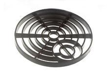 NUOVO SCARICO COPERTURA COPERCHIO BOCCHETTA di fognatura griglia in PVC Nero 6 in (ca. 15.24 cm) 150 mm ROUND (confezione da 50)