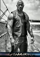 """2017 Fast and Furious 8 Dwayne Johnson """"The Rock"""" Silk Poster 20""""X13""""/50X33cm"""