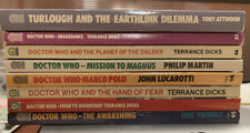 DOCTOR WHO pub Target  Lot of 8 new back stock  Mission to Magnus, Daleks ++++