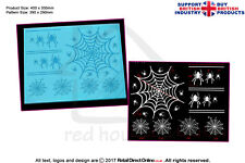 Cake Lace Mat - 3D Spider and CobWeb  - Cakes Cupcakes Craft
