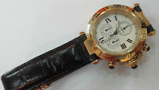 CARTIER PASHA Ref 1353 1 Solid 18k Gold Gents Chronograph Watch No Reserve!!!!