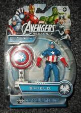 "Marvel universo Capitán América S H I E L D 4"" figura Blast Escudo Los Vengadores"