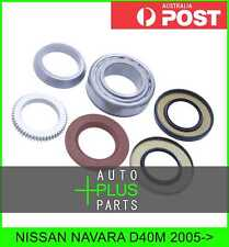 Fits NISSAN NAVARA D40M Bearing And Seal Repair Kit For Rear Wheel Axle