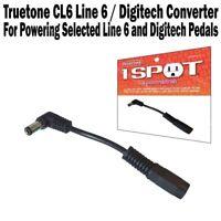 One 1 Spot L6 Line 6 Converter Guitar Pedal Adapter CL6 Visual Sound Truetone