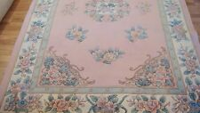GORGEOUS BRAND NEW Hand Knotted 90L Sculpted Chinese Wool Rug 6'X9'' TAG $3,880