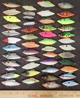 Bill Lewis Rat-L-Trap Fishing Lures Bulk Lot of 48 Factory Seconds w/o Hooks S-3