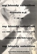 9/2/91 Pgn23 Advert: My Bloody Valentine tremolo Ep Creation Records 7x5
