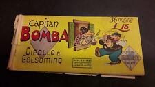 Albi Colibrì1° serie #13 Capitan Bomba ed. Tedeschi 1948 striscia