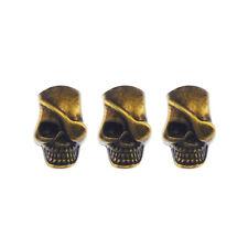 10pcs/lot Antique Bronze Alloy Pirate Skull Pendant Charms DIY Accessories 06282