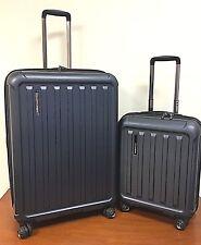 Travelers Choice The Art of Travel 2-piece Hardside Luggage Set, Blue - 8L_16