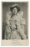 Antique printed postcard Miss Rosie Boote Irish Gaiety Girl