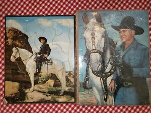 1950s Hopalong Hopalong Cassidy Western Puzzles complete