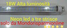 NEON TUBO LED SMD 60-120-150 CM 6500K LUCE FREDDA TRASPARENTE T8