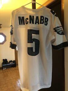 Vintage 90s Philadelphia Eagles Donovan McNabb NFL Champion Jersey Mens SZ 44 L
