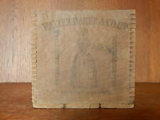 Antique Walter Baker Co Chocolate Paris Exposition 1900 Advertising Wood Box