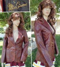 Abrigos y chaquetas vintage de mujer original color principal marrón