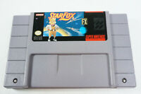 Starfox Super Nintendo Entertainment System SNES Game Cart Only Tested