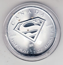 Silbermünze Superman    1 oz   5 Kanada-Dollar