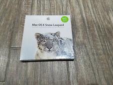 Mac OS X Version 10.6.3 Snow Leopard NEW DVD in Sealed Retail Box, FREE SHIPPING