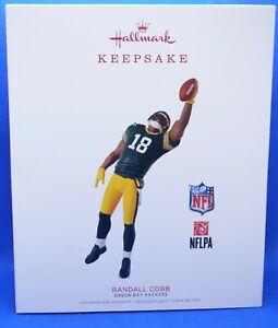 2018 Hallmark Keepsake NFL Green Bay Packers Randall Cobb Ornament ~ NIB (2020)