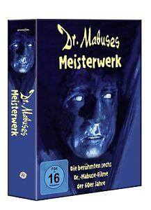 Dr. Mabuses Meisterwerk (6 Mabuse-Filme der 60er-Jahre)[6 DVD's/NEU/OVP]