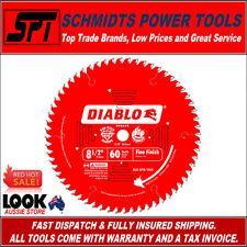 "FREUD DIABLO D0860S 60T 8-1/2"" MITER SAW BLADE 216mm ATB FINE FINISH TIMBER"
