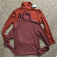 LADIES LONG SLEEVE POLO NECK ROLL NECK TOP WOMENS TURTLE NECK PLAIN JUMPER X2 L