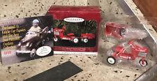 "1998 Hallmark Keepsake Ornament ""1955 Murray Tractor and Trailer"" Kiddie Car New"