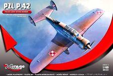 Pzl 42 dive bomber (polish af MKGS septembre 1939) 1/48 mirage (twin tail karas)
