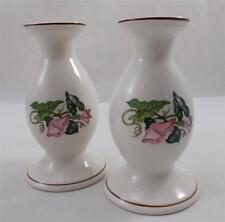 Villeroy & and Boch PALERMO 2 x bud vases / candle holders 13cm