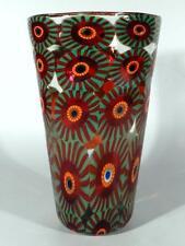 Eli Vetri D'arte fornace Formentello Murano ° signierte Millefiori Glas Vase