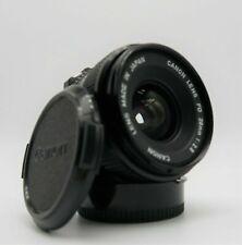 CANON FD 28mm 2,8 Obiettivo Grandangolo x Reflex A-1 AE-1 F-1  Anche x Digitali 