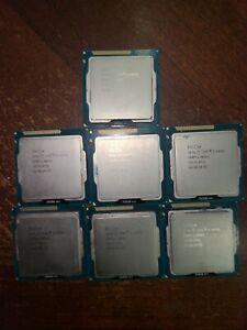 Lot of 7 - Intel Core i5-3475s (3rd Gen) 2.9GHz LGA1151 CPU