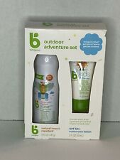 Babyganics 5oz Insect Repellant and 2oz Sunscreen Duo New Outdoor Adventure Set