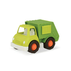 Garbage & Recycling Truck by Wonder Wheels Kids eco Green Toy Car NEW