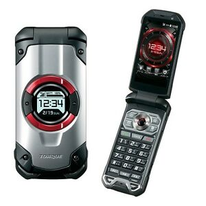 KYOCERA KYF33 TORQUE X01 WIFI TOUGH RUGGED ANDROID FLIP PHONE NEW UNLOCKED KYF31
