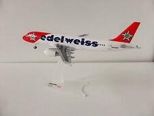 Edelweiss Air Airbus a320 1/200 Herpa 557146 a 320 Victoria HB-ihz SWISS SVIZZERA