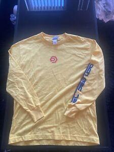 Vintage Ocean Pacific OP Sport International Long Sleeve Shirt XL Yellow