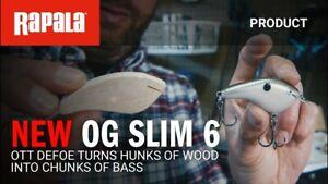 Rapala - Ott's Garage OG Slim 6 - Balsa Crankbait - Pick Color