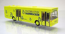 Rietze 72104 MAN SL 202 Stadtbibliothek Saarbrücken Omnibus Scale 1 87 NEU OVP
