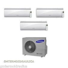 Climatizzatore Condizionatore Samsung Inverter Trial Split Maldives 9+9+12 AJ052