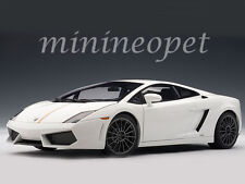 AUTOart 74635 LAMBORGHINI GALLARDO LP550-2 1/18 MODEL CAR BALBONI WHITE