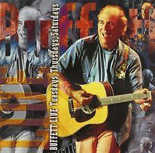 Buffett, Jimmy - Live: Tuesdays, Thursdays, Saturdays - 15 track 1999 CD