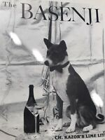 The Basenji Magazine 1986-1989 Full Years, Lot of 48: Dogs Champions Shows