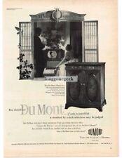 1950 Dumont Hanover TV Cabinet Television Vtg Print Ad