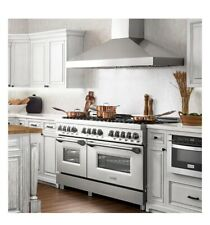 """Zline 60"""" 7.4 cu. ft. Dual Fuel Range with Gas Stove and Electric Oven in Stainl"""