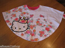 Girls Hello Kitty t shirt 3T HK5201922 White HK Circle Top w/ Bow Back NWT ^^