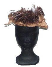 CHAPEAU taille unique CHERI BIBI de cérémonie femme mariage marron woman hat