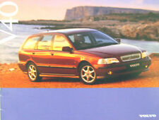 VOLVO V40 Estate 1.8 2.0 STD se CD 1996/1997 ORIGINALE UK SALES BROCHURE 90009952